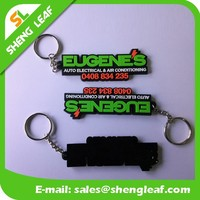 As per customized logo shape key chains 3d rings