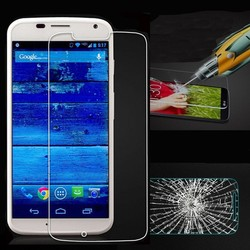 Korea Glue 9H Top Quality Anti-Shatte/Scratch/Explosion Full Tempered Glass Screen Protector for Motorola Moto X 2nd Gen(2014)