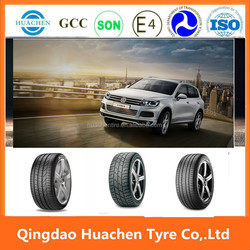 Economic passenger 4X4 car tyres with ECE, DOT, GCC certification from China factory
