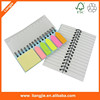 Stationery set memo pad with arrow sticky note and sticky notepad