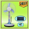 12v dc mini cooling fan in Bangladesh 12 LED table solar fan with battery