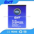 Venta al por mayor baixt 500 precio los tiempos de ciclo profundo de la batería bl-5b 3.7v 1050 mah para la batería nokia