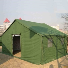 20 persons military style canvas tent