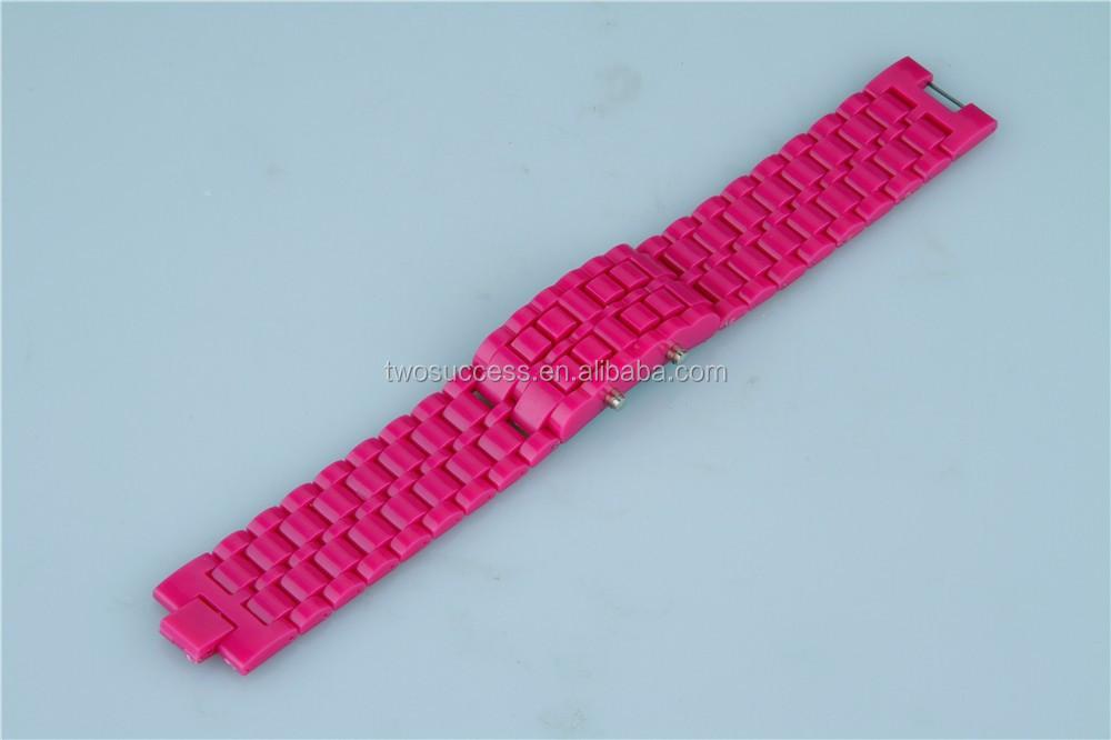 Lava LED chain watch (10)
