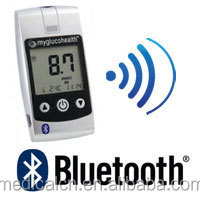 Bluetooth blood glucose meter/glucose & cholesterol and uric acid meter test strips