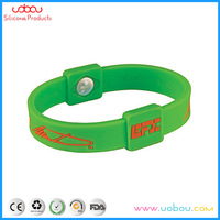 Balance and core strength silicone bracelet