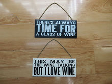 2014 Newest Top Quality Fashion decorative wooden sign with words