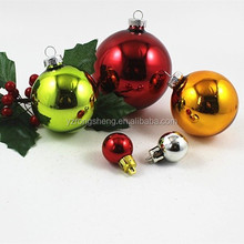 christmas factory direct supply shatterproof glass giant christmas ball