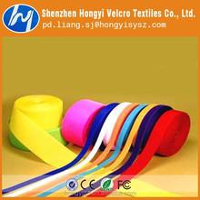 eco friendly colored nylon velcro fabric/nylon hook and loop fastener tape