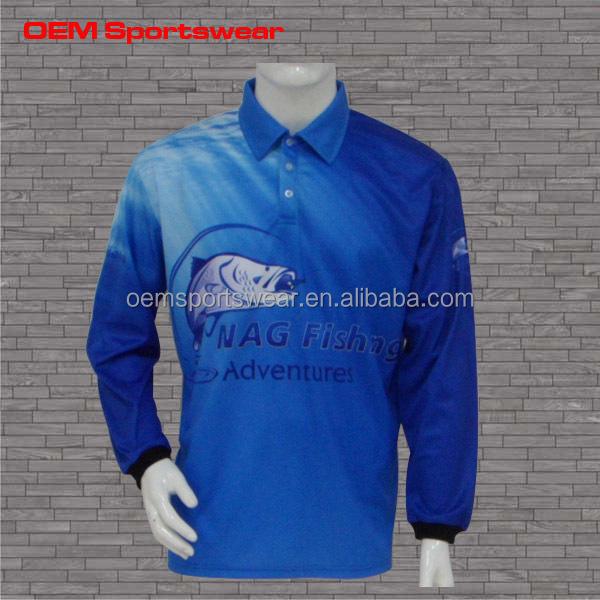 Long sleeve custom uv protection shirts for fishing buy for Uv fishing shirts