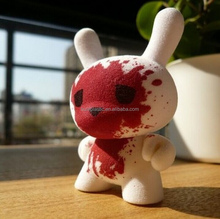 bloody face vinyl toy production/blood face vinyl product/produce unique design vinyl toy
