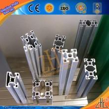 ODM industrial profiles aluminum manufacturer, produce t slot aluminum extrusion for industry, customized length aluminium