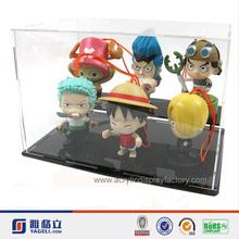 Yageli acrylic clear toy box/acrylic display case lego