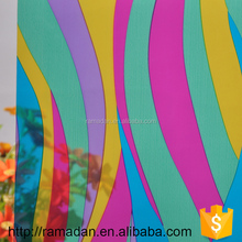 New pattern opaque to transparent glass film/adhesive transparent film window