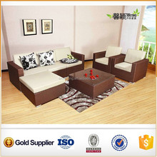 high quality home /ourdoor/balcony furniture rattan sofa set