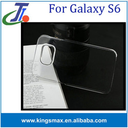 For Samsung Galaxy S6 ultra thin case clear TPU case for Samsung S6