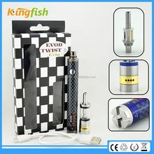kingfish product 1.5ohm atomizer evod twist 3 m16 atomizer ce4 v3 for china wholesale