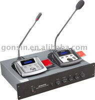 Integrated Conference microphone with Interpretation and Voting