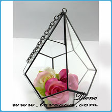 variuous size glass terrarium house in gift or crafts for home and wedding decoration