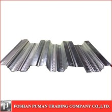 Open floor bearing plate, galvanized steel coils, color coated sheets