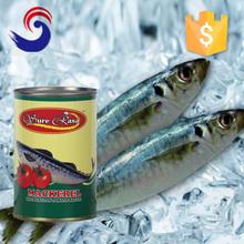 Canned jack mackerel fish