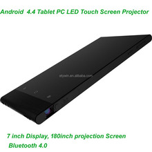 home theater system LED projector built in android 4.4 quad-core player with wifi & Bluetooth