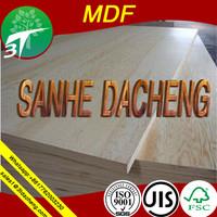 standard size mdf board/skywalker board/china supplier,/wood timber/desk/door mdf/