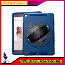 360 degree Rotating PU Leather Case For ipad air with stand ,case for ipad 5