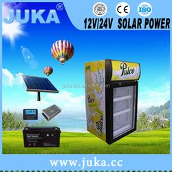 solar energy powerd 12/24v showcase home used 46l