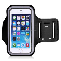 """Sport Gym Running Jogging Workout Neoprene Armband Cases For iPhone 6 Plus 5.5"""" Samsung Note 2 Note 3"""