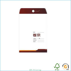 2015 custom cheap recycled paper document of files/information packs