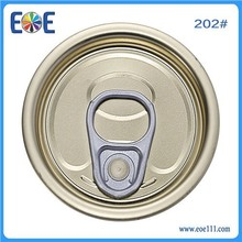 tinplate canned food easy oepn end manufacturer in Carson