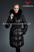 Top selling Products 2015 /Winter Fashion Dress With Fox Fur Cheap Wholesale In Russian811A258