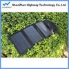2015 hot selling high efficency 10.5W solar panel/ mobile solar charger/ foldable solar panel charger