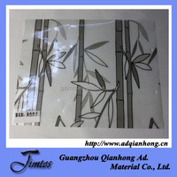waterproof pvc shower door decorative film