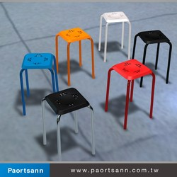 small colorful plastic colorful plastic stool