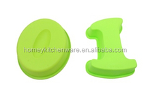 Letter shape silicone cake mould for funny baking