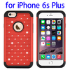 China supplier Starry Pattern Silicone PC combination case for iPhone 6s Plus
