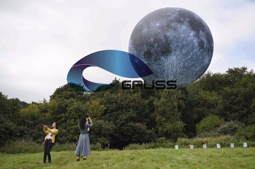8m inflatable giant moon balloon moon ball for event buy giant
