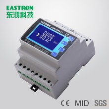 SDM630MV CT Mini CT Connection and 0.33V Input,Three Phase 4 Mounted Multifunction Smart DIN Rail Energy Meter