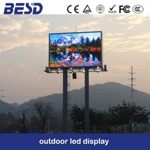 full color good image energy saving p10 outdoor led display