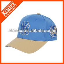 moda gorra de béisbol con 3d letras bordadas ny