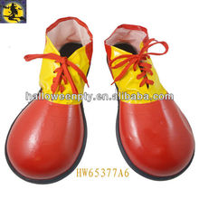 Red Funny Clown Shoes for Carnival