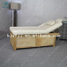2015 Factory wholesale beauty massage table/spa massage bed portable
