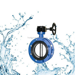 High Quality Manual Flange Butterfly Valve