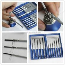 New 11PCS screw drivers kit with 6pcs slot type screwdrivers and 5pcs Philip type screwdrivers