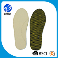 Sports EVA custom leather padded antistatic insoles for shoes