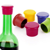 eco-friendly silicone material custom logo printed beer bottle caps, bottle cap paypal