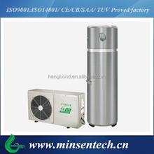 bathroom water heat pump split 600L evi heat pump air to water