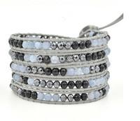 new tread wrap beaded friendship greek bracelet